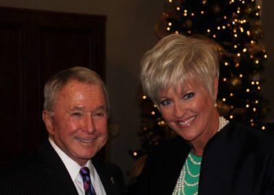 George Shinn and Genevieve Willoughby Kurpuis